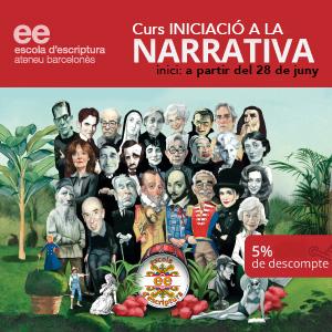 Curs iniciació a la narrativa Ateneu Barcelonès