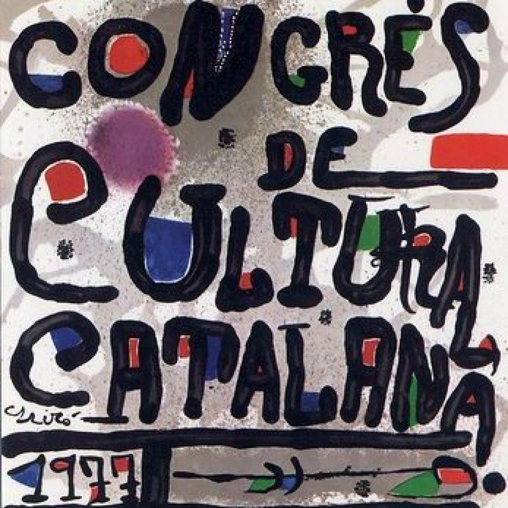 Cartell Congres Cultura Catalana